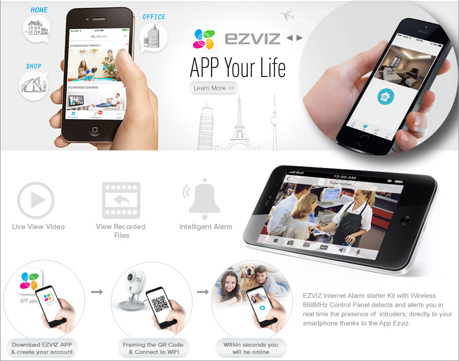 EZVIZ Brand – It Is About Video And Smart Devices @MyShop co za