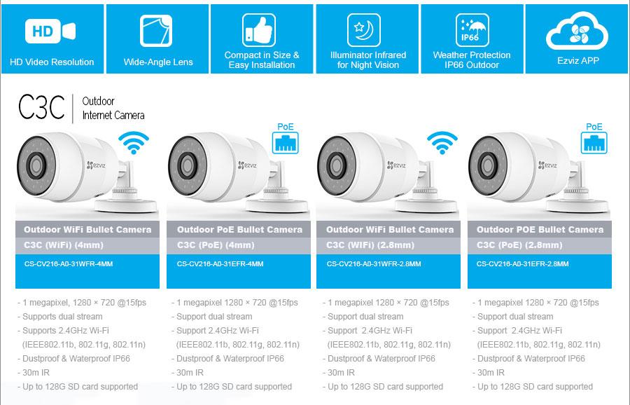 EZVIZ Home Security Solutions @MyShop co za